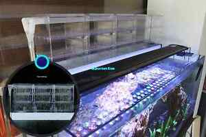 External aquarium filter light canister rain drip trickle for Above water fish tank