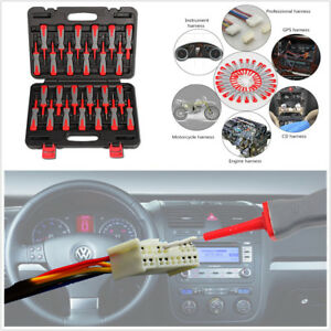 Details about 25Pcs Car Electrical Terminal Wiring Crimp Connector Pin  Remover Tool Set W/ Box