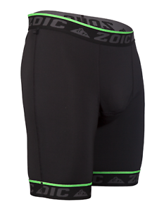 Black Zoic Men/'s Carbon Cycling Liner w// Multi-Level Ergonomic Pad