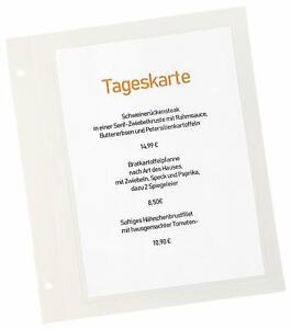 Simple Indentation Pour Menu/boissons Carte/pliante Carte Avec 2 Trous Buchschrauben-tränkekarte/klappkarte Mit 2 Bohrungen Buchschrauben Fr-fr Afficher Le Titre D'origine Couleurs Fantaisie