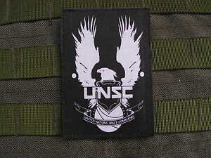SNAKE-PATCH-UNSC-Halo-4-UNSC-backed-Master-Chief-Xbox-360-One-US-airsoft