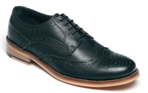 Mens Formal Shoes Leather Lace Up Smart Wedding Dress Brogues Size