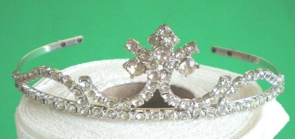 Women Girl Tiara Hair Band Bridal Princess Prom Crown Headband