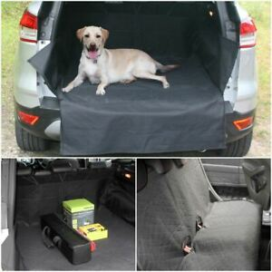 HD Grey Rear Back Seat Cover Waterproof Pet Protector For Nissan Juke 2010 On