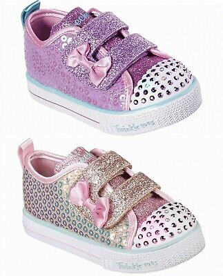 Skechers Mädchen Twinkle Toes: Shuffle Lite Mini Mermaid 20063n light up Schuhe | eBay