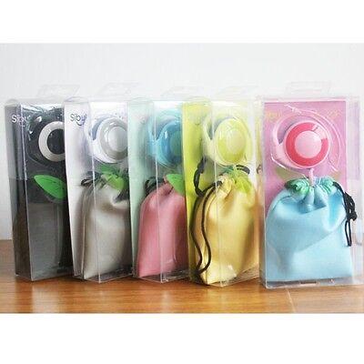 Cute Bag Multicolor Music Headphone Earphone Headset Cell Phone Laptop Portable