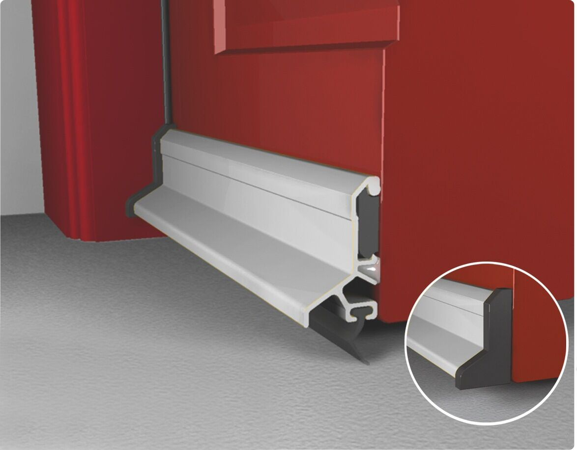 Weather Bar Deflector Draught Excluder Concealed Exterior Door Fixing UK Quality