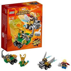 LEGO 76091 Marvel Super Heroes Mighty Micros: Thor versus Loki Fun Superhero Toy