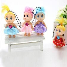 12cm Mini Ddung Doll Cute Toy Confused Doll Key Chain Phone Pendant OrnamenUF