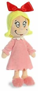 "Aurora 12"" Cindy Lou Who Stuffed Plush Toy # 15906"