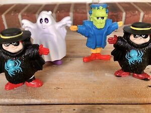Vintage-Lot-McDonalds-Happy-Meal-Toys-Halloween-Snap-Characters-Ronald-Grimace