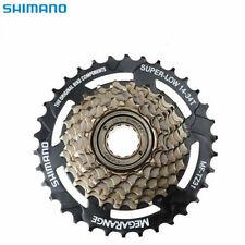 Shimano Tourney TZ MF-TZ510-7 Freewheel 7 Speed Cassette 14-34T steel
