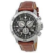New Citizen Eco-Drive Perpetual Calendar Chronograph Mens Watch BL5250-02L