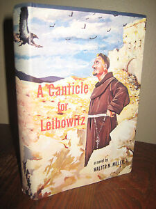 1st-Edition-A-CANTICLE-FOR-LEIBOWITZ-Walter-M-Miller-SCIENCE-FICTION-3rd-Print