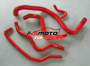 RED-Silicone-Radiator-Heater-Hose-Kit-for-Ford-Falcon-BA-BF-5-4L-V8-24-Valve