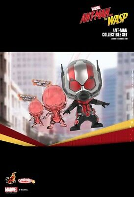 Shiny Metallic Colored Helmet Marvel Hot Toys Ant-Man Cosbaby