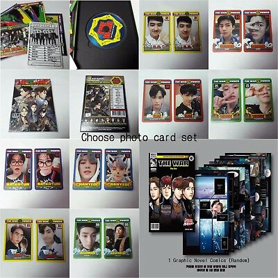 EXO 4th Repackage The War: The Power of Music Opened CD photocard 2p KPOP Korean
