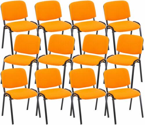 12x Konferenzstuhl KEN Stapelbar Stapelstuhl Konferenzstühle Besucherstuhl Stuhl