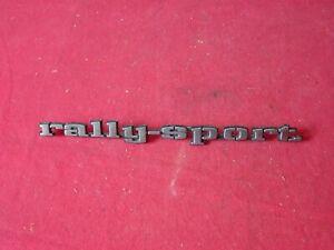 "68 Camaro RS /"" rally sport /"" Fender Emblem NEW  Pair"