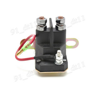 Details about Starter Relay Solenoid Magnetic Switch Polaris Sportsman 335  400 450 500 HO EFi