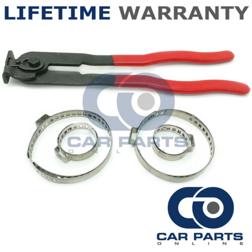 CAR ATV FITS 99/% OF VEHICLES CV BOOT CLAMPS PAIR X 2 /& EAR PLIERS