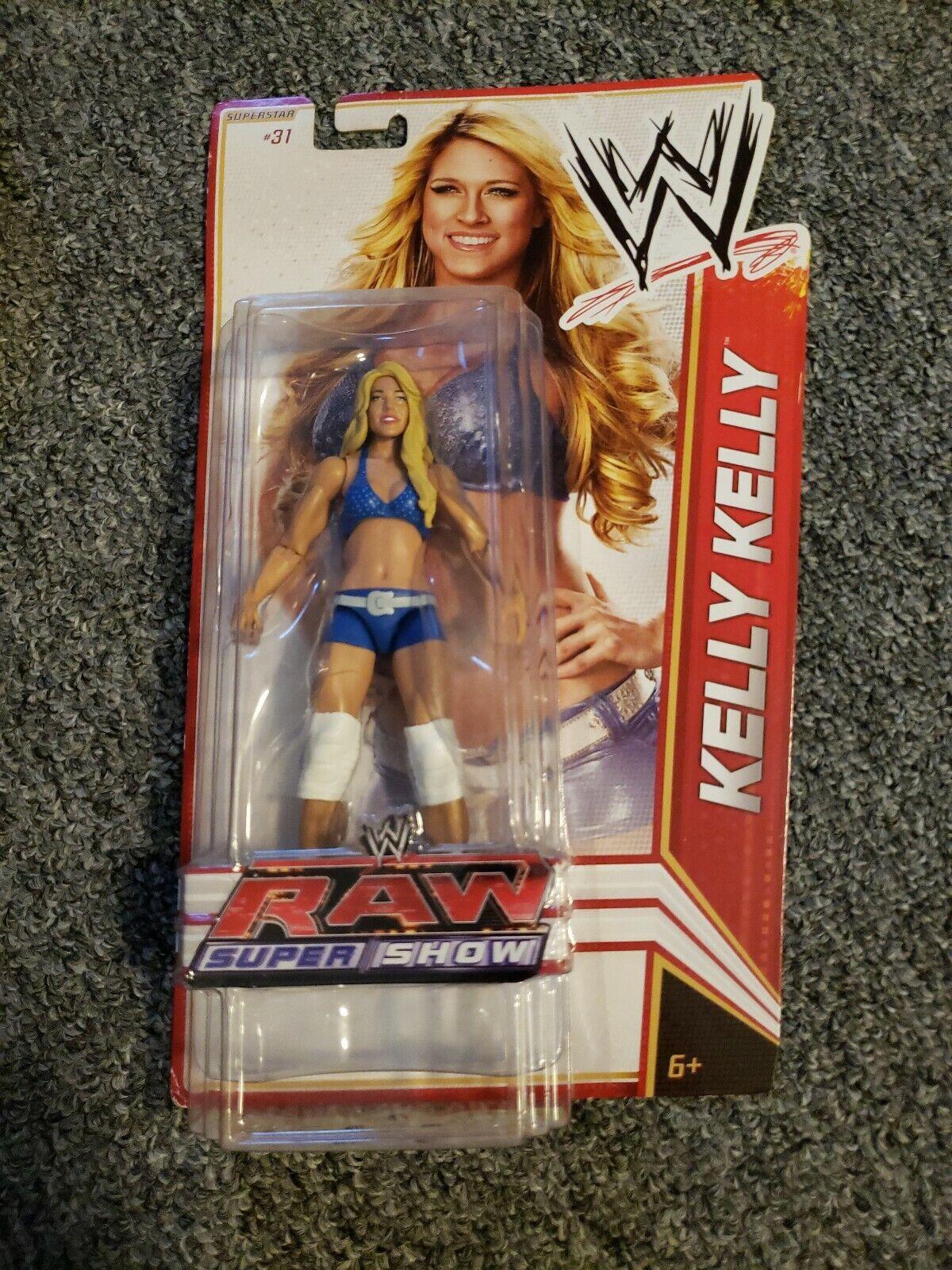 WWE Mattel RAW Super mostrare KELLY KELLY Superestrella  31 cifra nuovo 2011