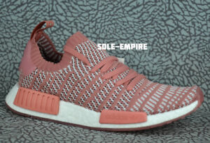 low cost 7c540 0f73a Image is loading Adidas-NMD-R1-STLT-PK-W-CQ2028-Womens-