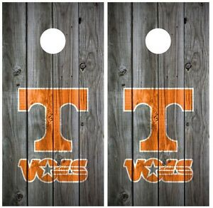 Tennessee-Vols-Vintage-Wood-Cornhole-Board-Decal-Wrap-Wraps