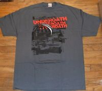 Underoath Men's T-shirt Lost In The Sound Of Separation 2 Sided Graphic Tee