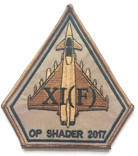SPEARHEAD  Embroidered Patch RAF Royal Air Force 11 Squadron OP SHADER 2017