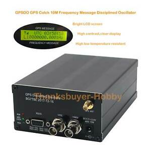 10M-GPSDO-GPS-clock-LCD-GPS-DISCIPLINED-OSCILLATOR-with-LCD-Display-Frequency