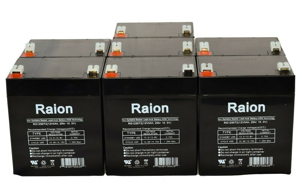 This is an AJC Brand Replacement APC DLA3000RM2U 12V 5Ah UPS Battery
