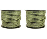 Electric Fence / Fencing Rope Green 2 X 400 Meters 6mm