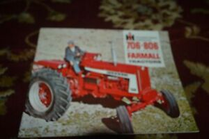 International Harvester 706 806 Tractor Brochure FCCA