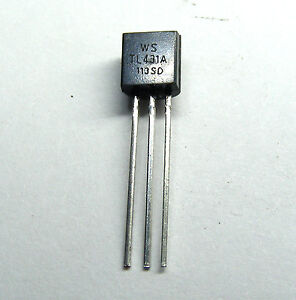 Pack of 1-10 TL431A precision programmable voltage reference 1/% TO-92