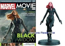 MARVEL MOVIE COLLECTION #2 BLACK WIDOW FIGURINE & MAGAZINE EAGLEMOSS NEW
