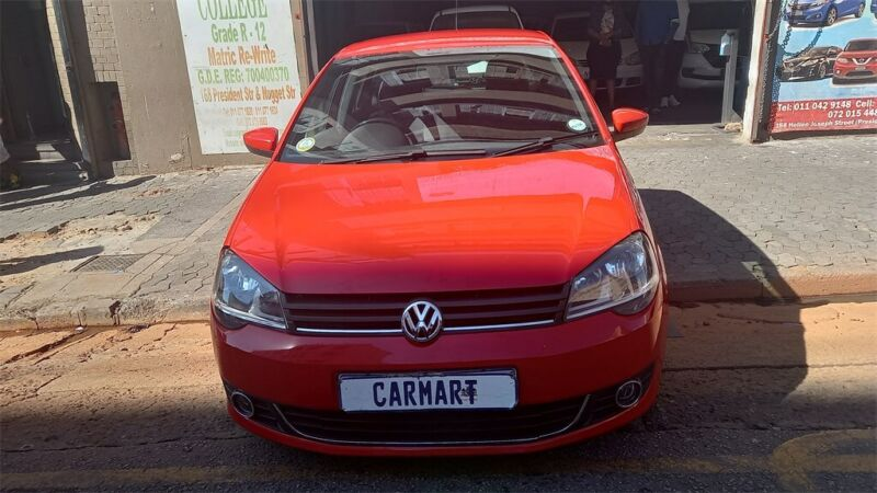 Volkswagen Polo Vivo Hatch 1.0 TSI GT, Red with 75000km, for sale!
