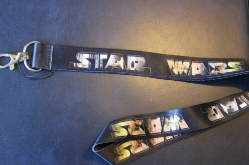 ORIGINAL STAR WARS FILMS Lanyard Neck Strap Keychain ID Badge Holder REBEL ONE