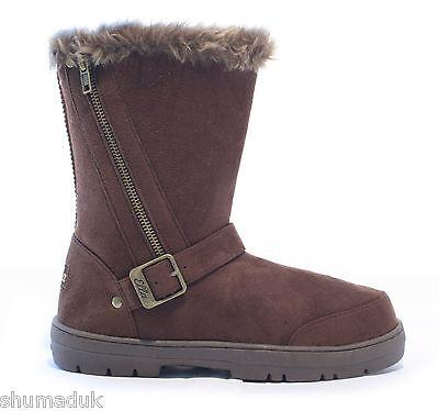 Ella schuhe Libby kunstpelz schnee warm winter stiefel Allen UK größen 3-8