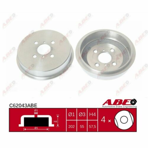 Bremstrommel 1 Stück ABE C62043ABE