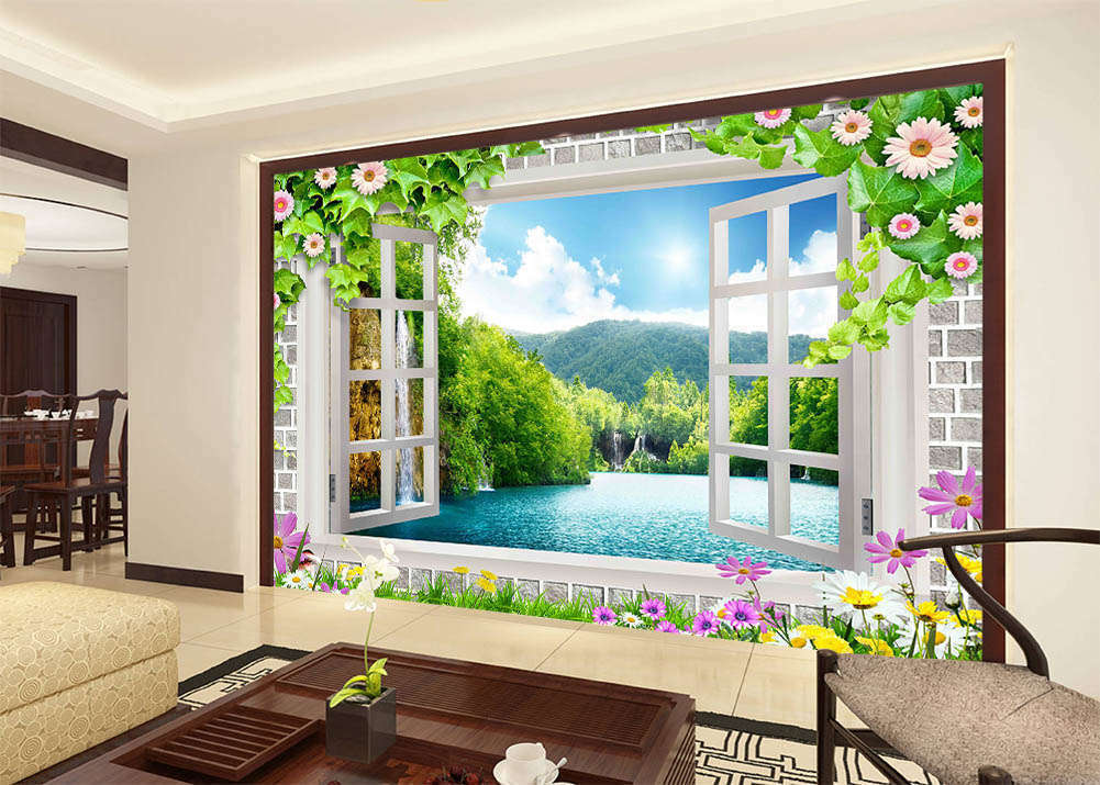 Close To Nature 3D Full Wall Mural Photo Wallpaper Printing Home Kids Decor