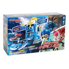 Power Battle Watch Car STADIUM SHOOTING LEAGUE SET Blue Will Korea Toy Mini car