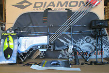 New 2019 Diamond Infinite Edge Pro RH BLACK OPS Compound Bow UPGRADED Package