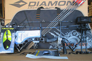 New 2018 Diamond Infinite Edge Pro RH BLACK OPS Compound Bow UPGRADED Package