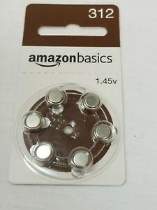 AmazonBasics-Hearing-Aid-Batteries-Size-P-312-1-45v-Mercury-Free-Zinc-Air-1-pack