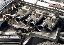 Jaguar XKE Engine  Vintage Classic Race Car Photo CA-1236