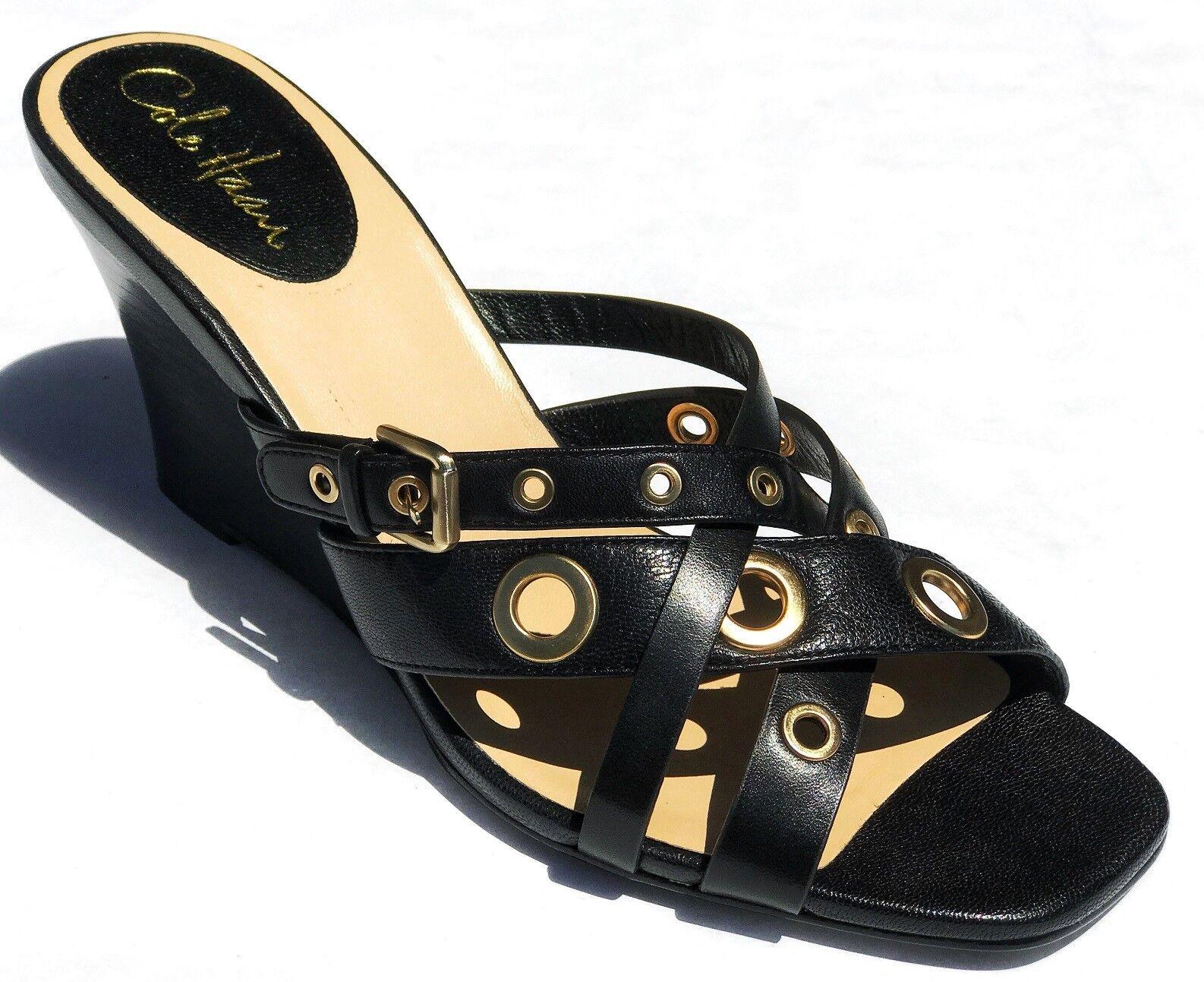 Cole Haan donna Air Whitney Slide Wedge Sandals scarpe nero  10 NEW IN BOX  economico