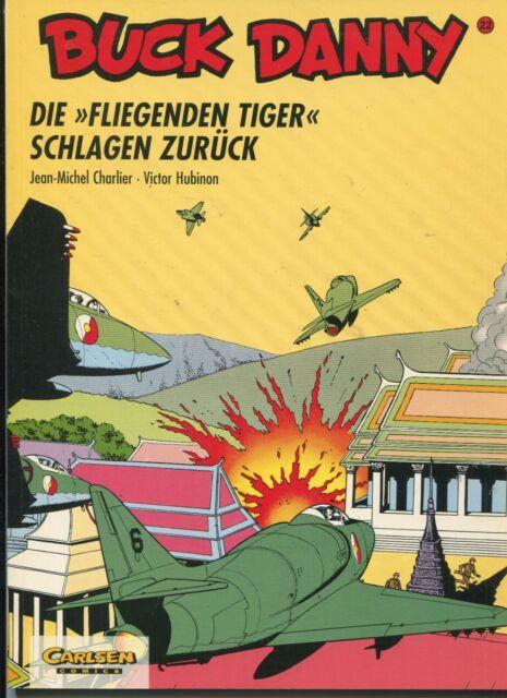 BUCK DANNY Bd. 22 von CHARLIER und HUBINON aus dem CARLSEN VERLAG