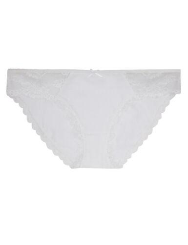 Fa M ou S HAUT ST Boutique M S Plain Lace Spot Low Rise Bikini Culotte Pantalon Courte