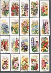 1936-Abdulla-amp-Co-Cigarettes-Old-Favourites-Tobacco-Cards-Complete-Set-of-25